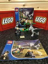 Lego Harry Potter 4750 Draco's Encounter with Buckbeak 100% Box & Instructions