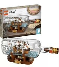 LEGO SET 21313 LEGO IDEAS SHIP IN A BOTTLE *NEW* SHIPS SUPER FAST LIKE 🚀🚀🚀🚀