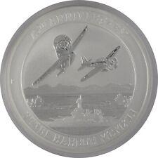 2016-P $1 Pearl Harbor PCGS MS 70 1 OZ Silver Tuvalu