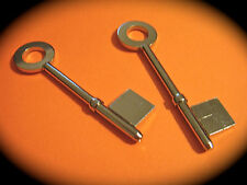 5 Lever Key Blank Pair To Suit CHUBB-2 Keys. Mortise-Free Post -R135