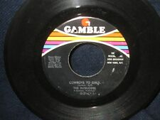 "The Intruders ""Cowboys to Girls/Turn the Hands of Time"" 45"