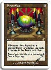 4 PLAYED Dingus Egg - Artifact Seventh 7th Edition Mtg Magic Rare 4x x4
