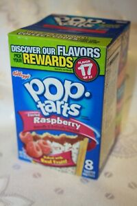 USA Kellogg's Pop Tarts Frosted Raspberry (8 toaster pastries)