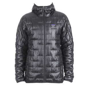 Patagonia Mens - Micro Puff Hoody Jacket - Forge Grey