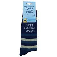 Boofle Best Grandad Ever Socks UK Size 8-11 Mens Adults