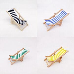 Beach Chair Wooden Foldable Foldable Deckchair Beach Chair For Doll Deckchair