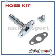 Garrett T2 T25 T28 TB02 TB22 Ball / Journal Bearing Turbo Oil Drain Pipe Kit