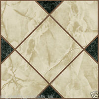 28 x Vinyl Floor Tiles - Self Adhesive - Bathroom Kitchen - Victorian Marble 193