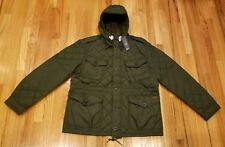 Polo Ralph Lauren Men's Diamond Quilted Hooded Jacket Olive Size XL THESPOT917