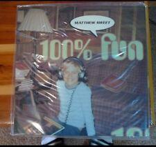 Classic Records LP Reissue:Matthew Sweet 100% Fun 180G SEALED LP