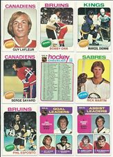 1975-76 Topps Hockey Set of 330 cards NM