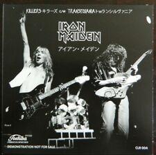 "Iron Maiden  7"" Killers / Transylvania rotes Vinyl NM Japan Press."