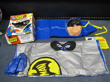 Vintage Batman costume Cape Mask with Original Box Ben Cooper ?