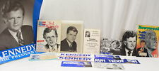 TED KENNEDY MEMORABILIA 1979 MAGAZINES, BUMPER STICKERS AND PHOTOS