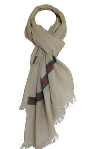 Woollen Feel Large Warm Light Plush Men's Winter Wrap Scarf Shawl Head Scarves