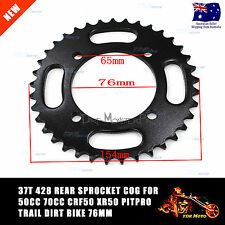 37T 428 Rear Sprocket cog for 50cc 90cc 125cc Thumpstar Atomik Pitpro Dirt bike
