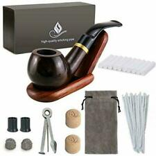 Joyoldelf ZBIJJ179 Wooden Tobacco Smoking Pipe Set