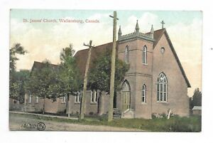 Kent County WALLACEBURG, ONTARIO St James Church Pub. Valentine & Sons Publisher