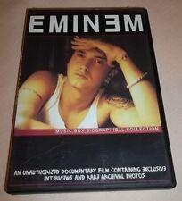 Eminem - Music Video Box Documentary (DVD, 2006)