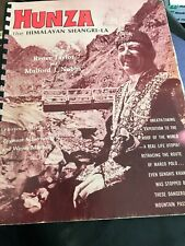 Hunza: The Himalayan Shangri-La Cookbook Recipes 1979
