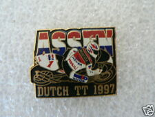 PINS,SPELDJES DUTCH TT ASSEN OR SUPERBIKES MOTO GP 1997 DUTCH TT ASSEN