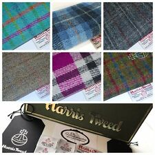 Harris Tweed Fabric 36.5cm by 25cm with FREE label & Swing Tag (1 per piece)