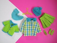 Vintage Barbie SKIPPER Complete Outfit PLAID CITY #1977 Free Shipping USA