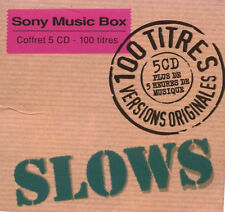CD ~ SLOWS 100 Titres ~ 5-CD 100 Songs Compilation (95)