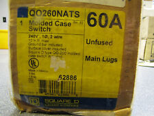 Schneider Electric Square D QO260NATS 60 amp molded case switch
