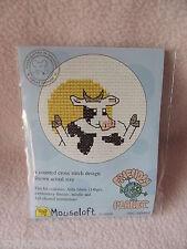 Mouseloft stitchlets Cross Stitch Kit ~ ~ planète amical vache