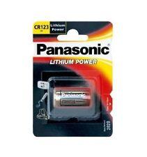 100 PANASONIC CR123A Foto-Batterie CR123 CR 123 123A Ø16,5 x 34,2mm