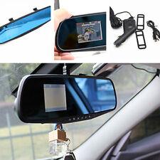 "Car Vehicle 2.4"" Rearview mirror Camera Dash Cam DVR CCTV Night Vision Recorder"