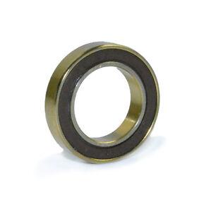 OMNI Racer Worlds Lightest TiN Titanium Ceramic Bearing: 6802, 61802 15x24x5mm