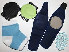 Lot of 20 Heel Socks, Arch Support and Foot Massager PedPal Bundle