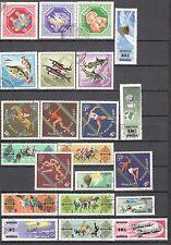 R9951 - MONGOLIA 1965 - LOTTO 22 DIFFERENTI DEL PERIODO - VEDI FOTO
