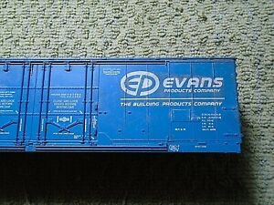 HO Scale 50' Evens Products Company USLX 11300 O/S Georgia Pacific USLX 16056