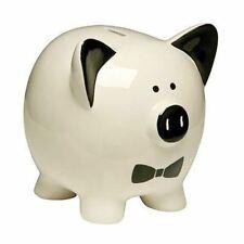 Piggy Bank,Tux,Ceramic - Big Living