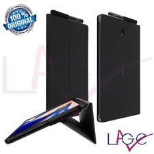 """Custodia per Samsung Galaxy Tab S4 10.5"""" T830 T835 Nero Book Cover Originale"""