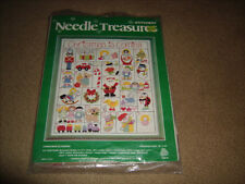 NEW NEEDLE TREASURES  Christmas Is Coming Stitch Kit New & Sealed