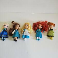 Disney Mini Animator Lot Of 5  Dolls