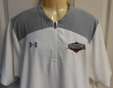 Under Armour All America Football Hot Jacket 2XL Loose Fit White Coach Issue