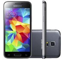 """New Unlocked Samsung Galaxy S5 mini G800F 16GB Smartphone 4G LTE 4.5"""" GPS Black"""