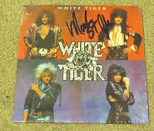 KISS MARK ST JOHN AUTOGRAPHED WHITE TIGER LP FACTORY SEALED!