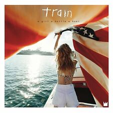TRAIN - A GIRL, A BOTTLE, A BOAT - NEW CD ALBUM