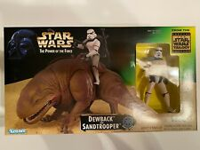 Kenner Star Wars Power Of The Force - Dewback and Sandtrooper - 1997