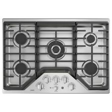 Ge Cafe Series Cgp9530Slss30 Inch Gas Cooktop -Stainless Steel