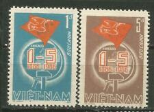 Vietnam Scott #1623-1624 ( ) Mng Day Work 1986