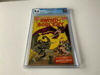 SWORD OF SORCERY 3 CGC 9.6 WHITE PAGES HOWARD CHAYKIN DC COMICS 1973