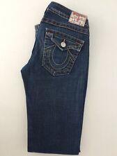 "True Religion Ladies Jeans, Billy, W28"" L32"" Mid Denim blue, Boot Leg, Vgc"
