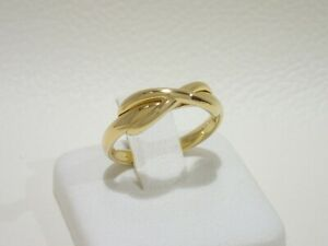 TIFFANY & CO. 18k yellow gold Infinity ring size 5.5